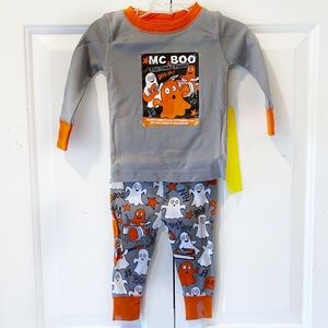 Old Navy Baby Infant Halloween Ghost Pajamas Set